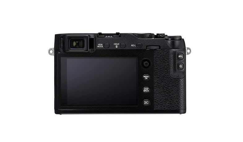 Fujifilm X-E3 Mirrorless Digital Camera Body - Black (Back)