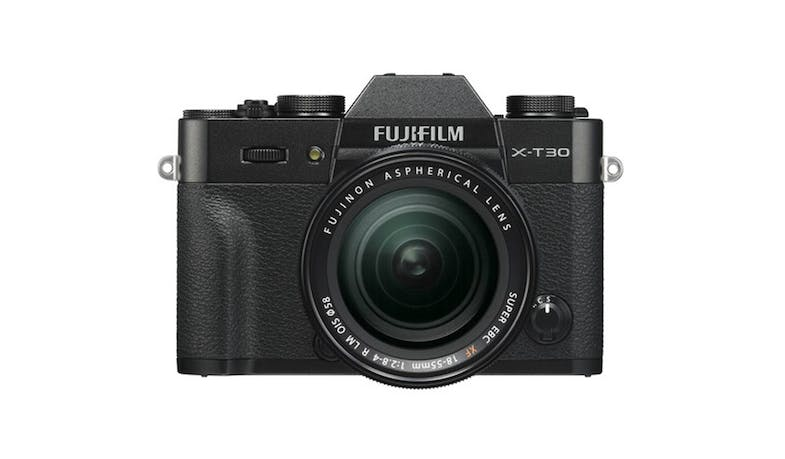Fujifilm X-T30 Digital Camera with XF18-55mm lens - Black (Main)
