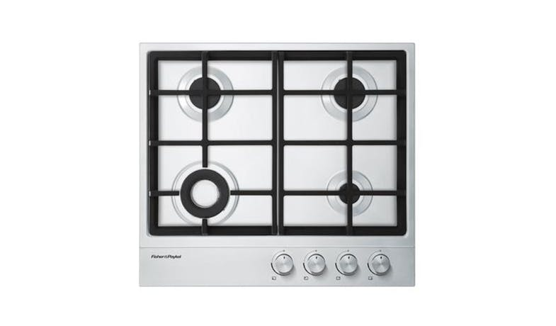 Fisher & Paykel 60cm Gas on Cooktop - Stainless Steel 01