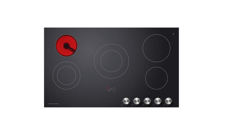 Fisher & Paykel 90cm Electric Cooktop - Ceramic glass 01