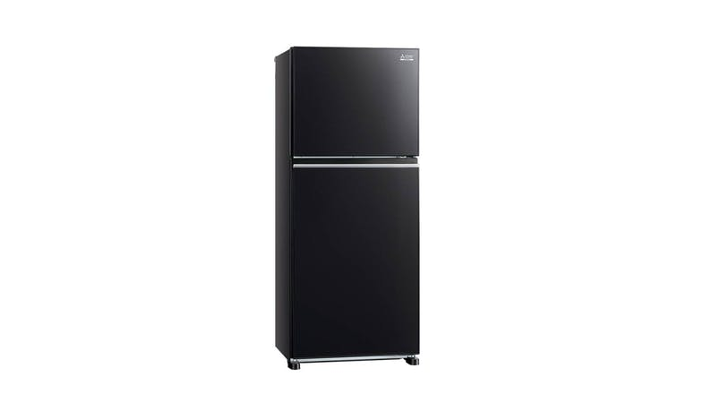 Mitsubishi MR-FX47EN 362L 2 Door Refrigerator - Glass Brilliant Black-01