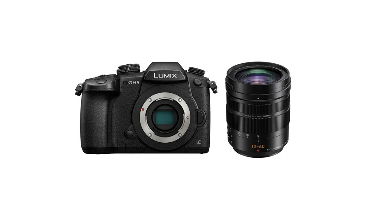 Panasonic Lumix GH5AGA-K Digital Mirrorless Camera - Black 02