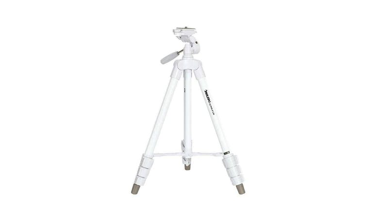 Samurai Alpha X Tripod with Video Handle-White-01