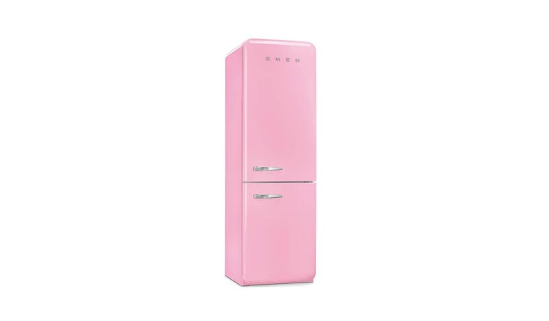 Smeg FAB32RRN1 304L Retro 2 Door Fridge -Pink-02