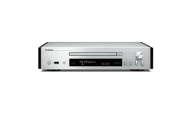 Yamaha CD-NT670 Network CD Player - Silver 01