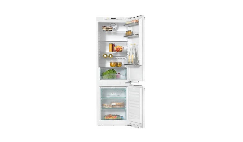 Miele KFNS-37432iD 261L Built-In Fridge Freezer - White-01