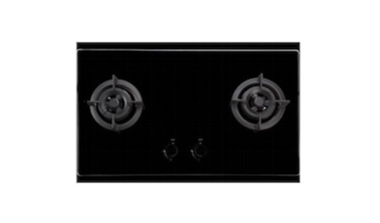 EF EFH9721HMVGB  86cm Glass Gas Hob -Black-01