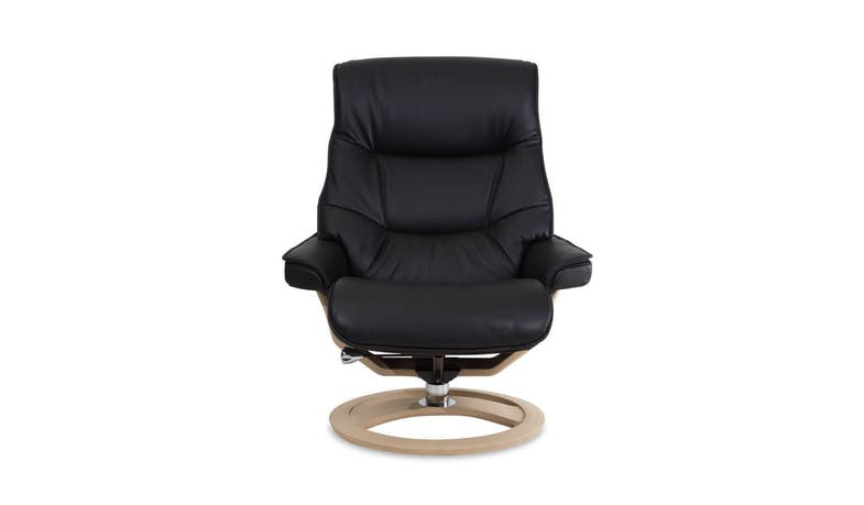 IMG Cortina (L) RAF430 Recliner + Ottoman (HS) (Front)