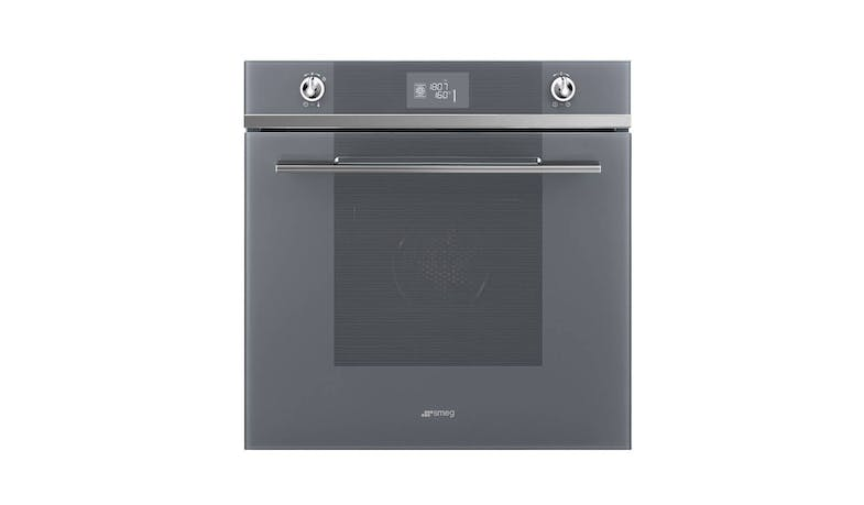 Smeg SFP6102TVS Electric Multifunction Pyrolytic Oven - Stainless Steel-01