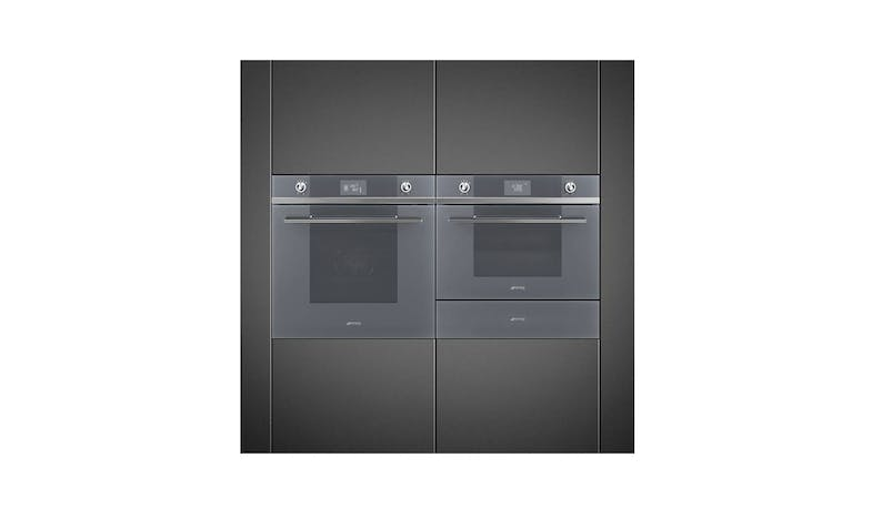 Smeg SFP6102TVS Electric Multifunction Pyrolytic Oven - Stainless Steel-02