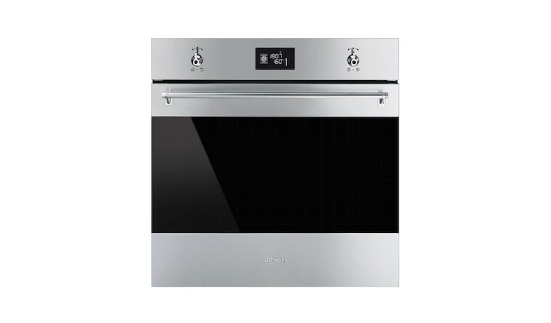 Smeg SF6390XE Classica 60cm Compact Steam Oven - Stainless Steel-01