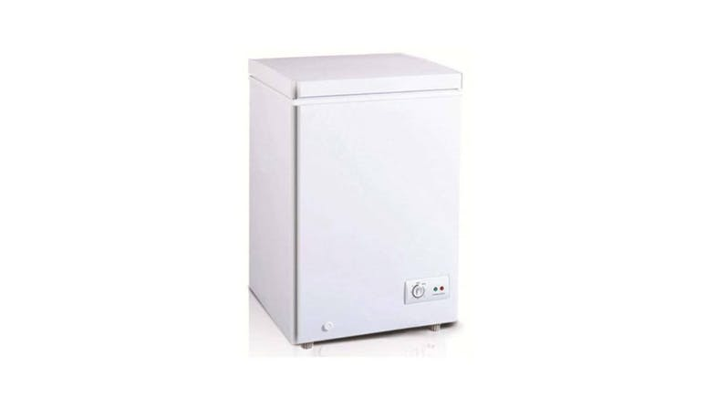Tecno TCF-1480 130L upright Chest Freezer - White-01