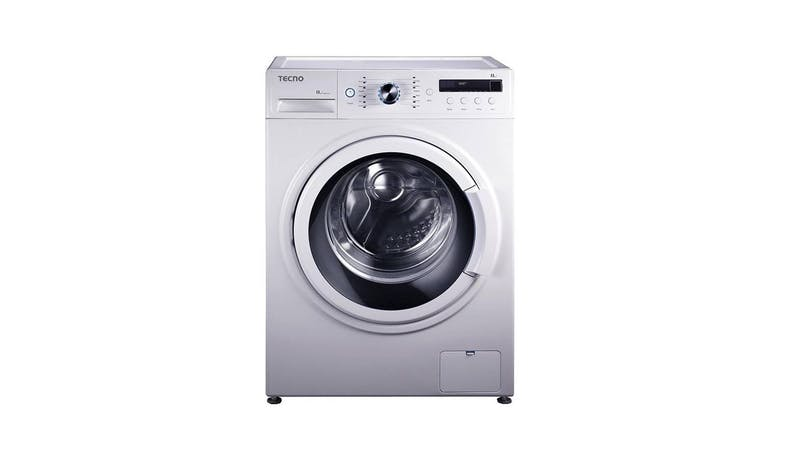 Tecno TFL 8012 8KG Front Load Washing Machine - White-01