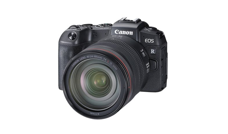 Canon EOS RP Digital Camera with 24-105mm F4 L IS USM Lens - Black 01