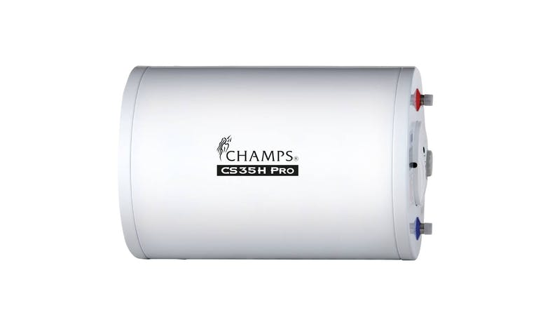 Champs CS35H Pro Storage Water Heater - White-01