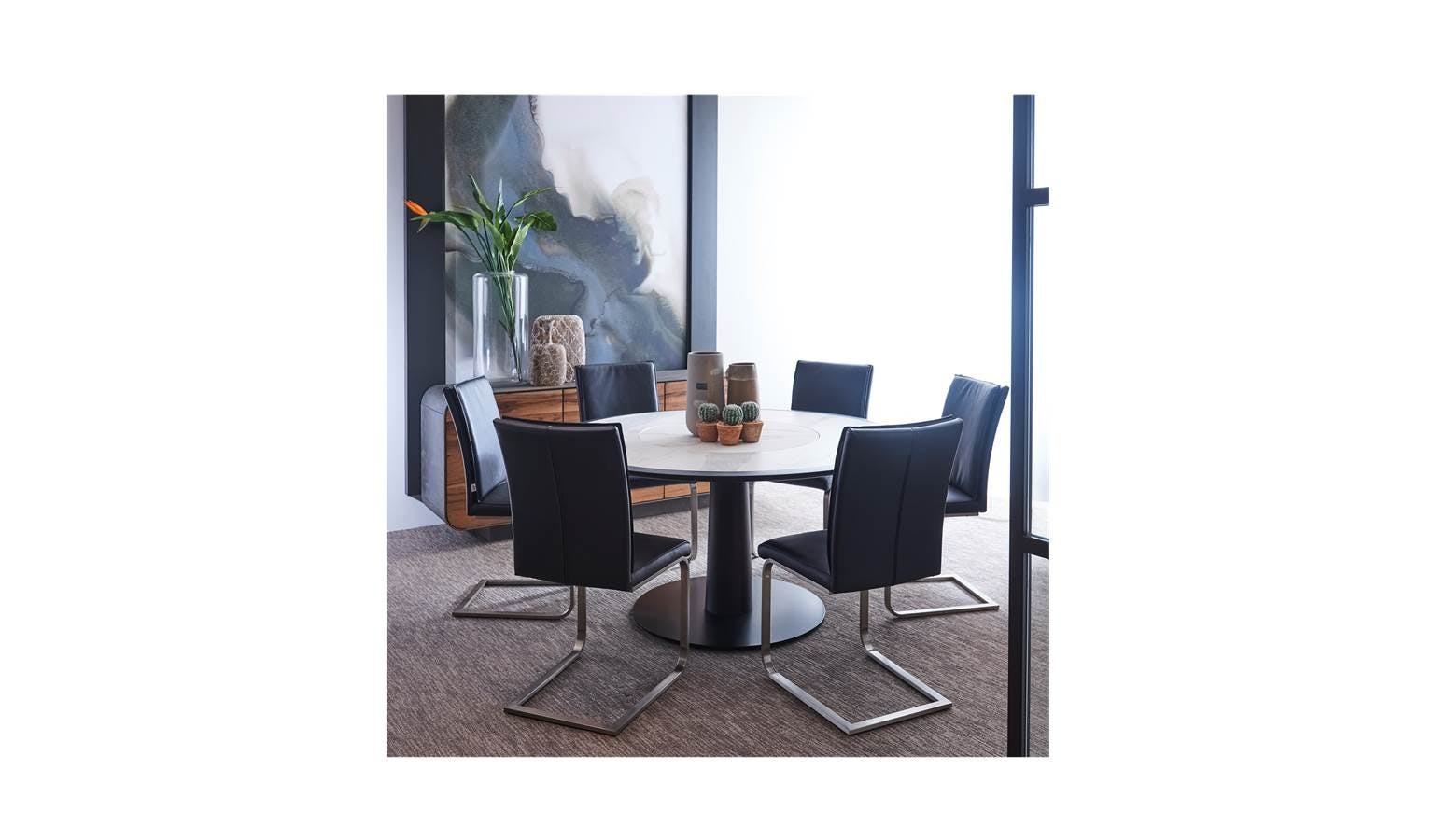 Diamante Italian Round Dining Table