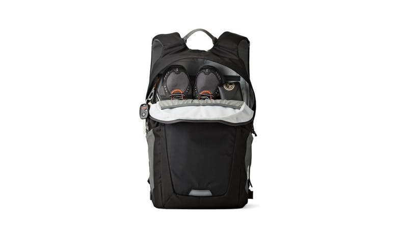 Lowepro Photo Hatchback BP 250 AW II Backpack - Black & Grey-02