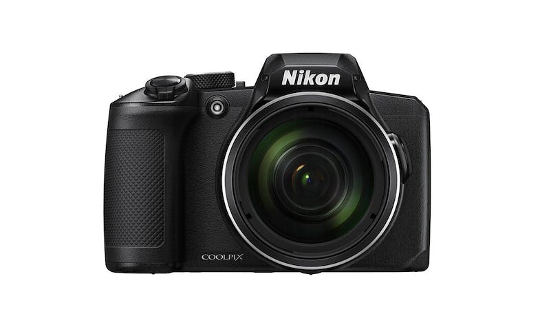 Nikon CoolPix B600 Digital Compact Camera - Black (Front)