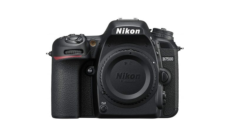 Nikon D7500 20.90MP DX-format DSLR Body - Black-01
