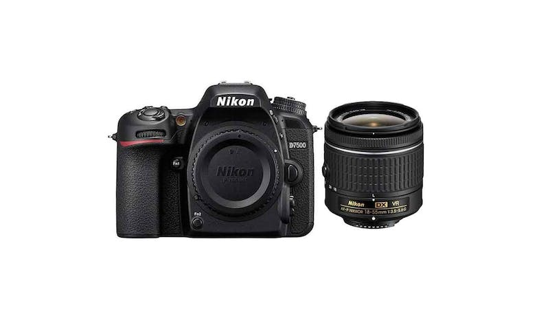 Nikon D7500 with 18-55mm Lens Camera Kit - Black-01