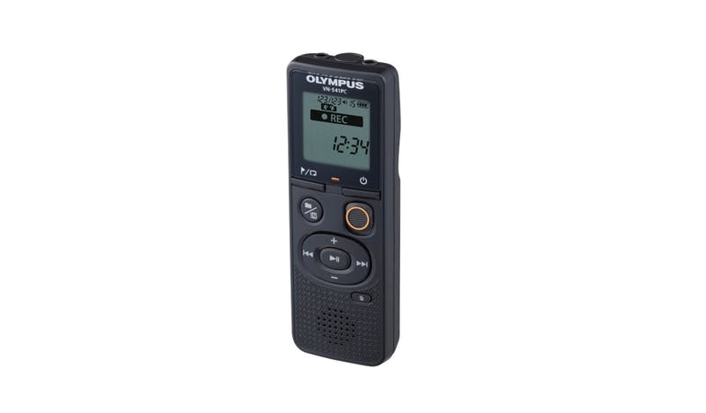 Olympus VN-541PC Voice Recorder - Black 01