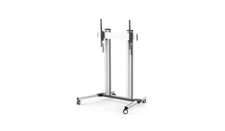 "Queenie TTL02-610TW up to 100"" Trolley Stand - Black-01"