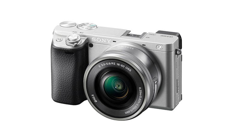 Sony Alpha 6400L/S 16–50 mm E-mount Camera - Silver-01