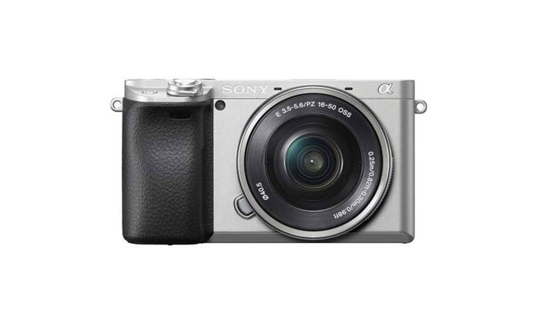 Sony Alpha 6400L/S 16–50 mm E-mount Camera - Silver-02