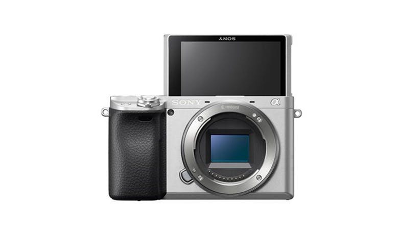 Sony Alpha 6400/S Mirrorless E-mount Camera Body - Silver-01