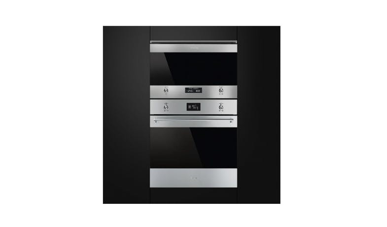 Smeg SF6390XE Classica 60cm Compact Steam Oven - Stainless Steel-02