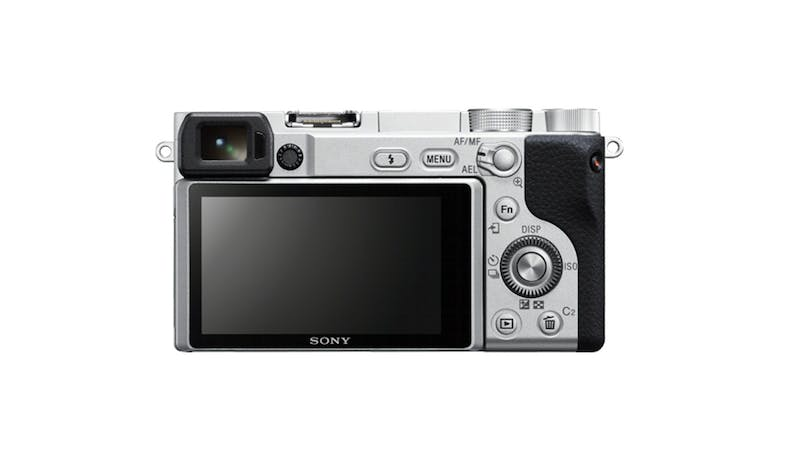 Sony Alpha 6400/S Mirrorless E-mount Camera Body - Silver-02