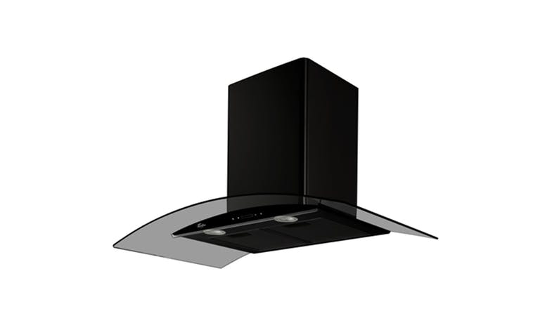 Turbo Incanto TAE96-BK 90cm Chimney Hood - Black 01