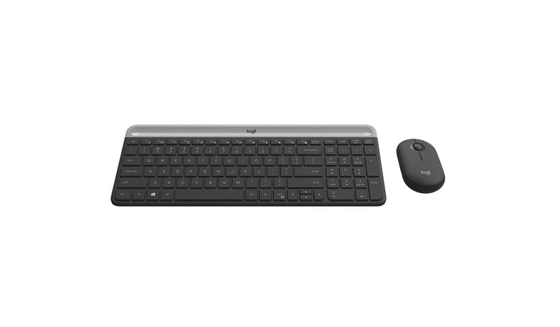 Logitech MK470 Slim Wireless Keyboard and Mouse Combo - Graphite-02