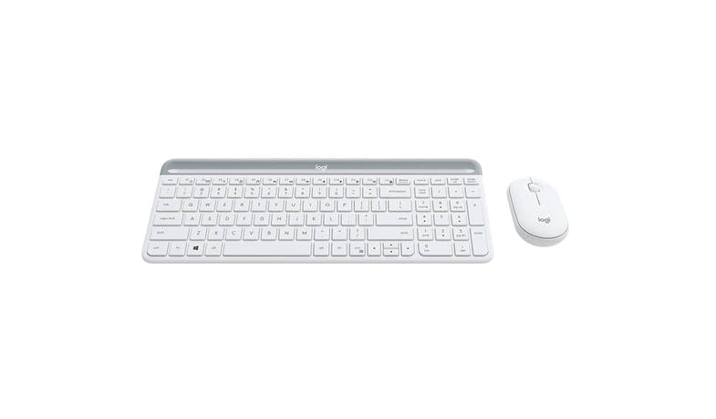 Logitech MK470 Slim Wireless Keyboard and Mouse Combo - Off-White-02