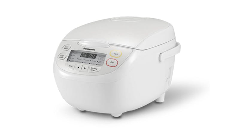 Panasonic SR-CN108WSH 1.0L Rice Cooker - White - 01