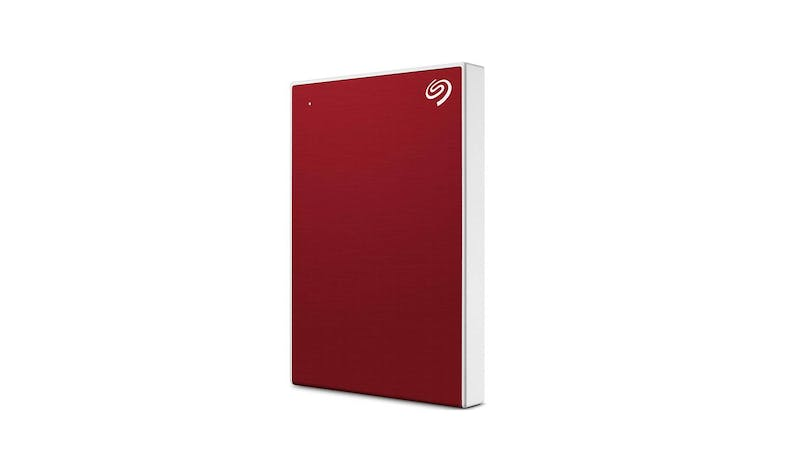 Seagate Backup Plus Slim 2TB Portable External Drive - Red-01