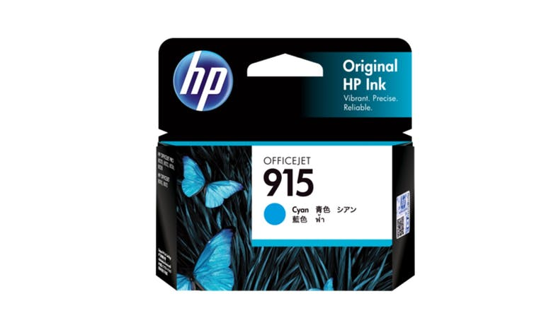 HP 915 3YM15AA Original Ink Cartridge - Cyan-01