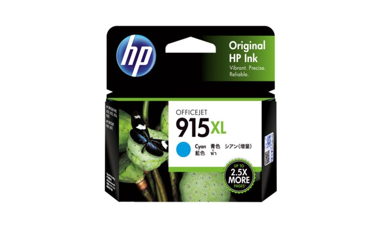 HP 915XL 3YM19AA High Yield Original Ink Cartridge - Cyan-01