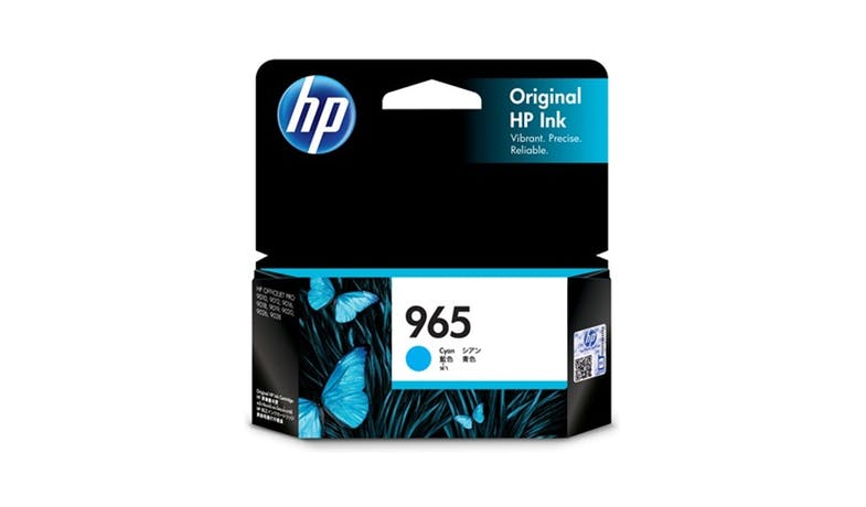 HP 965 3JA77AA High Yield Original Ink Cartridge - Cyan-01
