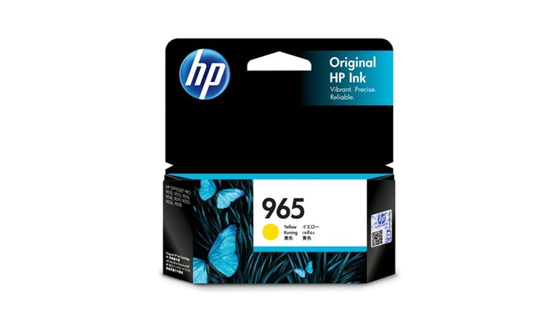 HP 965 3JA79AA High Yield Original Ink Cartridge - Yellow-01