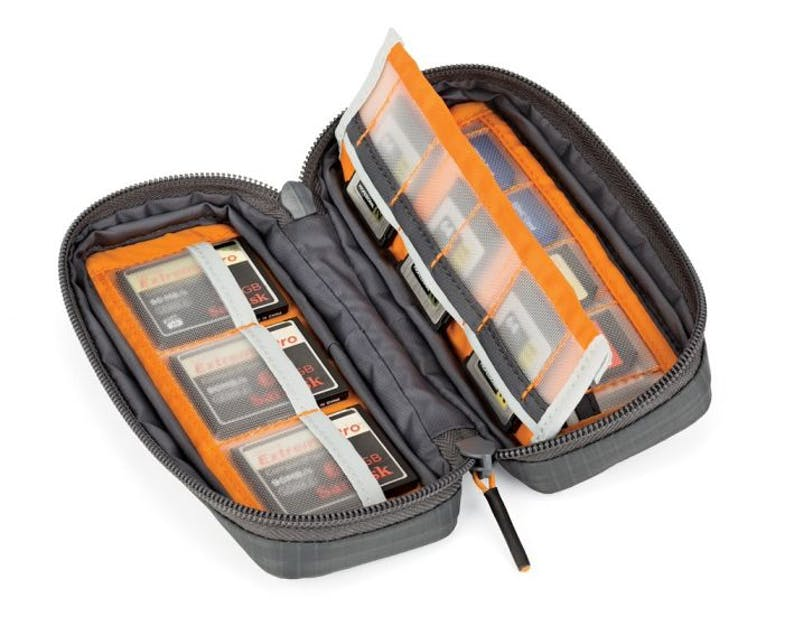 Lowepro LP37186 GearUp Memory Card Wallet20 Camera case - Dark Grey_02