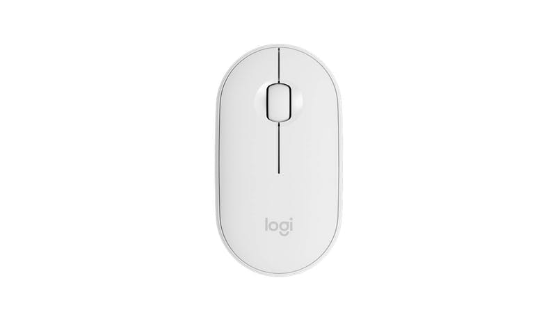 Logitech 910-005600 Pebble Wireless Mouse M350 - White (Top)