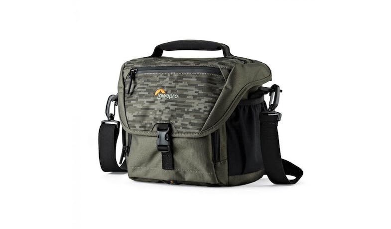 Lowepro NOVA 170 AW II (LP37122) Camera Shoulder Bag - Camo (side)