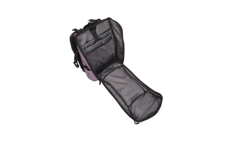 "Targus TSB97203GL 14"" Sol-Lite Backpack - Rice Purple (widely open)"