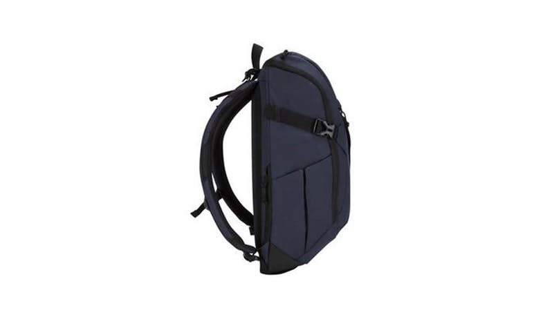 "Targus TSB97201GL 14"" Sol-Lite Backpack - Navy (Side)"