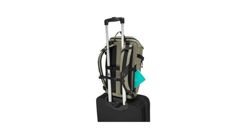 "Targus TSB97102GL 15.6"" Sol-Lite Backpack - Olive Green (On luggage)"