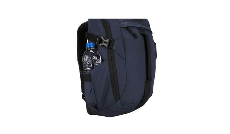 "Targus TSB97201GL 14"" Sol-Lite Backpack - Navy (bottled water side)"