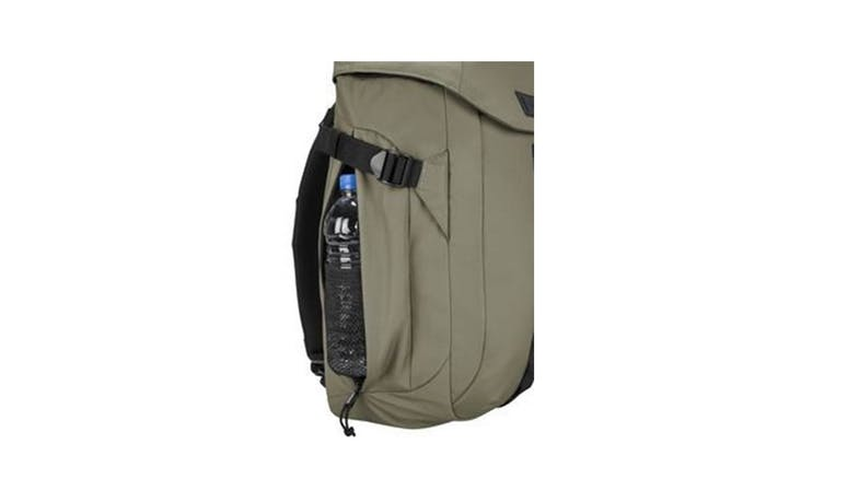 "Targus TSB97102GL 15.6"" Sol-Lite Backpack - Olive Green (Bottled water side)"