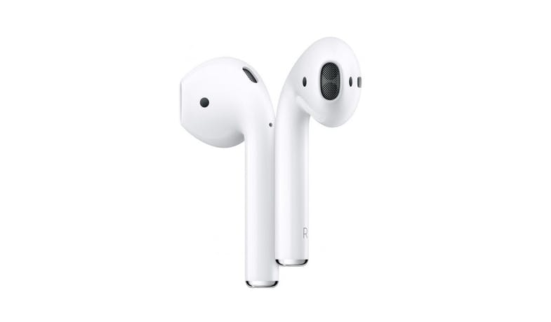 Apple MRXJ2ZA/A AirPods with Wireless Charging Case - White-01
