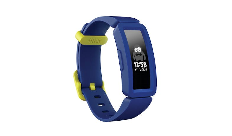 Fitbit Ace 2 Kids Activity Tracker - Night Sky/Neon Yellow-01